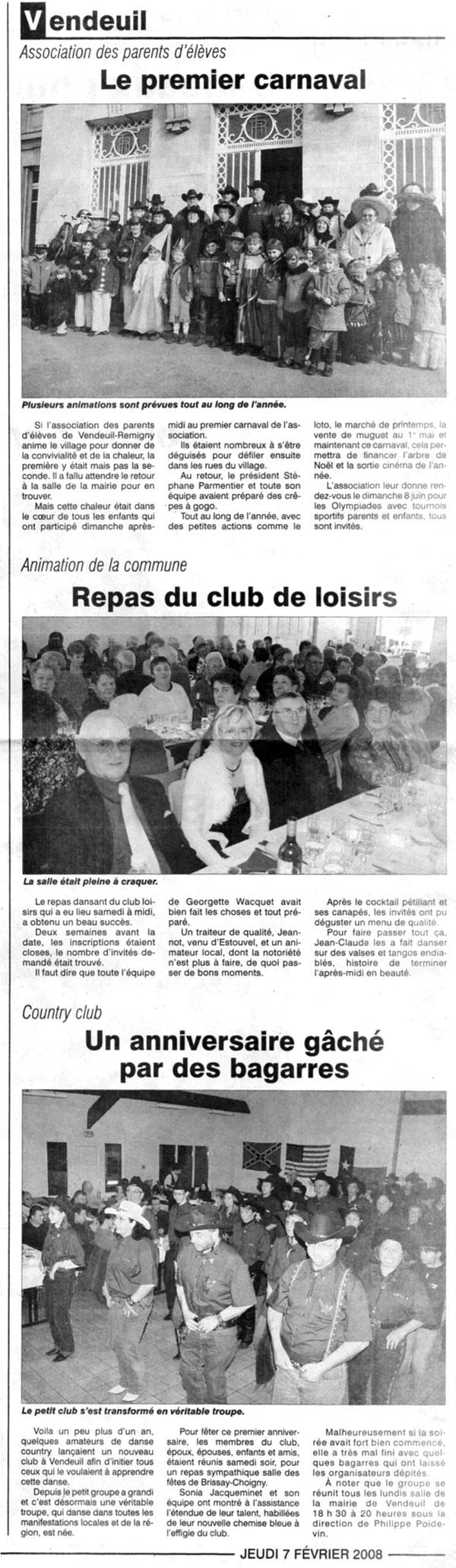 Brocante Moy De L Aisne vendeuil - associations - danse country